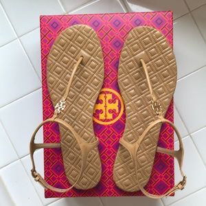 NIB TORY BURCH MARION QUILTED SANDAL